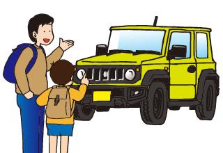 同乗者にうるさい車だね、といわれたら、だってジムニーだもん、と答えましょう。
